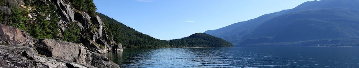 Northwest Wilderness Society Camp on Kootenay Lake